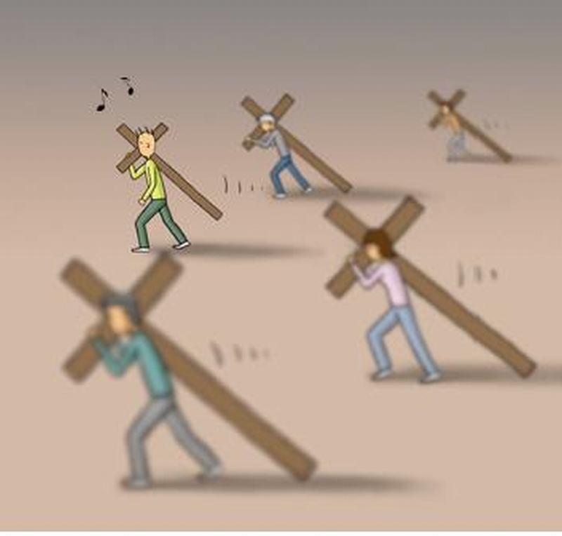 生命的十字架 - 畅所欲言