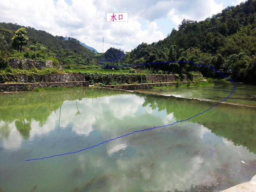 江华县水口新镇风景