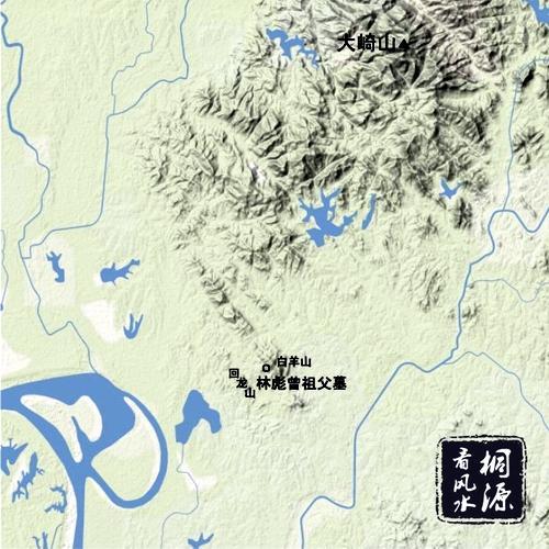 关家垴战斗地图