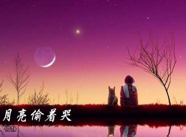 月亮偷着哭 月亮偷着哭 何静 月亮偷着哭歌词