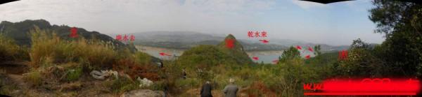 2013年12月26日于广西金秀葬一地麒麟望江形|风水堪舆