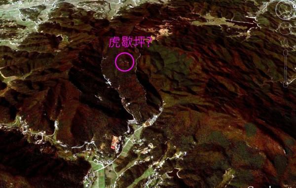 卫星图标注韶山虎歇坪位置是否正确